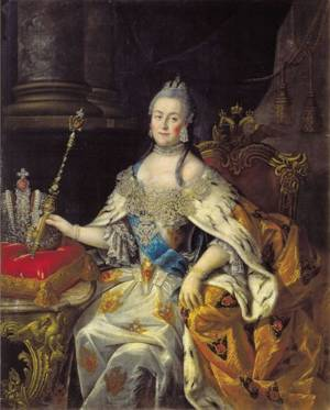 """Queen mother"" Catherine II"