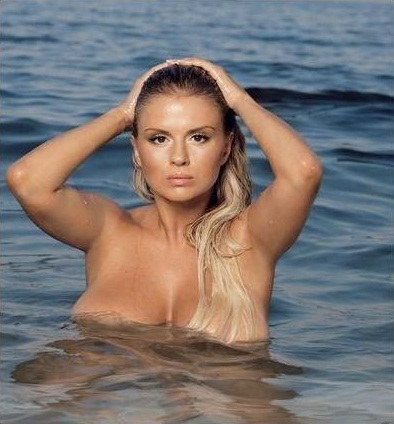 Bathing Suit Anna Semenovich